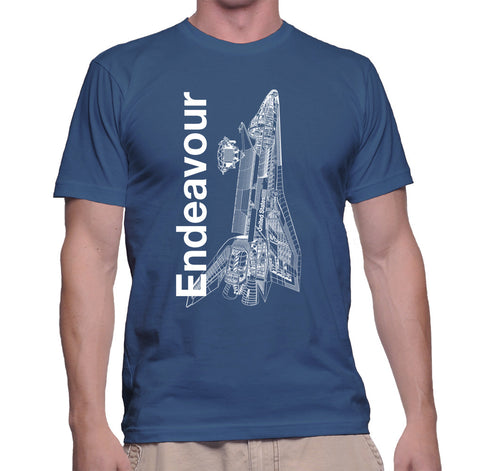 Endeavour Shuttle T-Shirt - Shuttlewear, Endeavour Shuttle T-Shirt