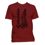 Columbia Youth Shuttle T-Shirt - Shuttlewear, Columbia Youth Shuttle T-Shirt