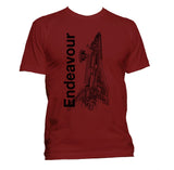 Endeavour Youth Shuttle T-Shirt - Shuttlewear, Endeavour Youth Shuttle T-Shirt