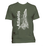 Atlantis Youth Shuttle T-Shirt - Shuttlewear, Atlantis Youth Shuttle T-Shirt