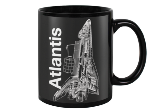 Atlantis Space Shuttle Coffee Mug - Shuttlewear