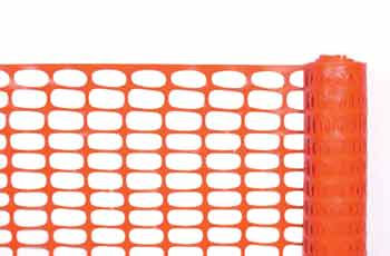 Orange Barrier Fencing (1mtr x 50mtr)