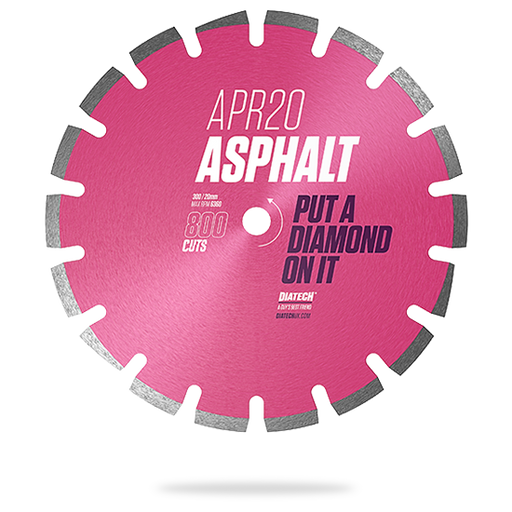 300mm Superior Asphalt Diamond Blade