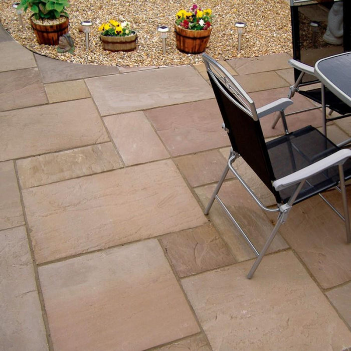 Autumn Brown Sandstone <br> Patio Pack (20m2) <br>