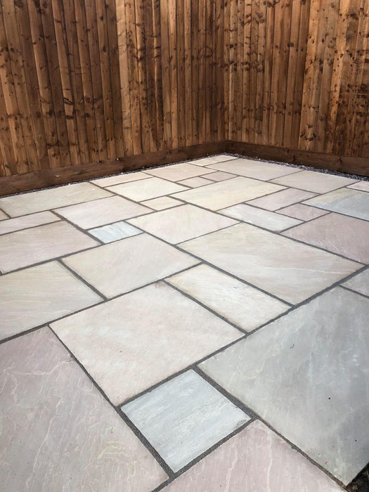 Raj Sandstone <br> Patio Pack (15.25m2) <br>