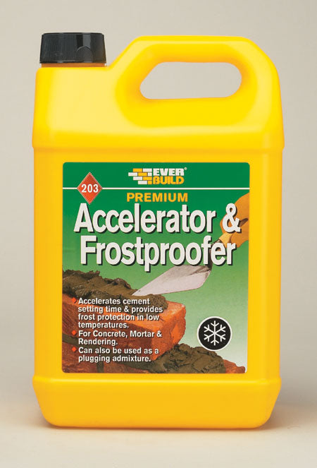 203 Accelerator & Frost Proofer (Various Litre Size)