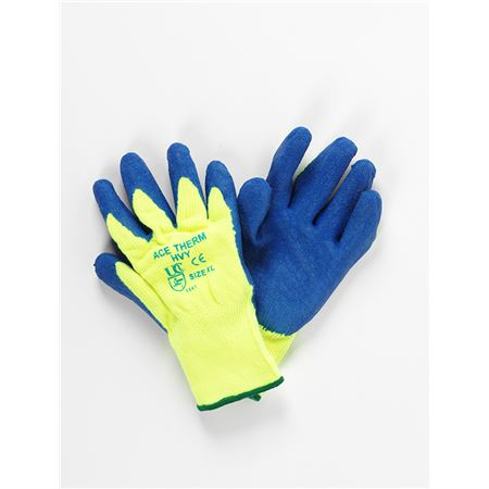 Ace Therm Gloves - Blue/Yellow