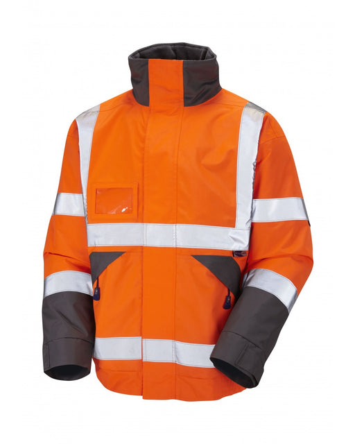 Superior Bomber Jacket - Orange