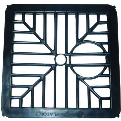 "6"" x 6"" Black Plastic Gully Grid"