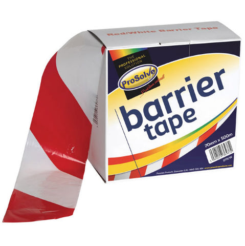 Premium Barrier Tape Red/White