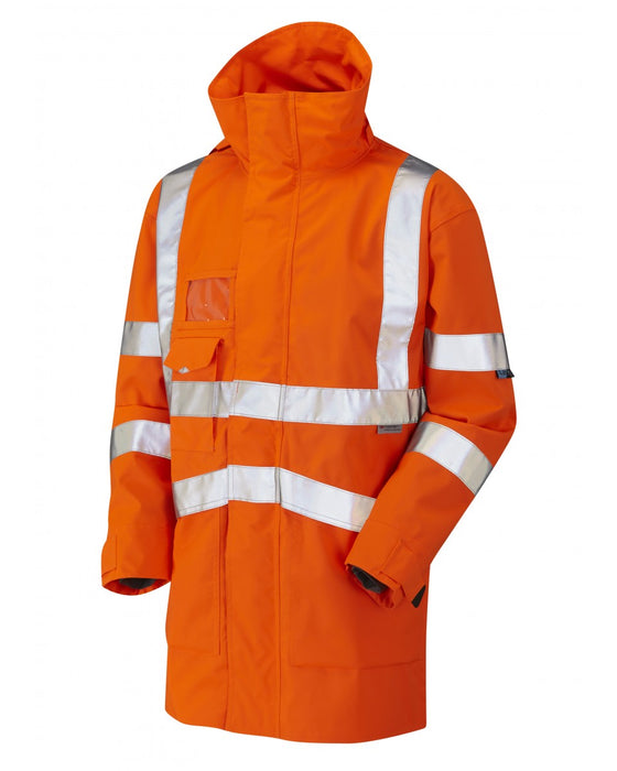 Breathable Executive Anorak - Orange