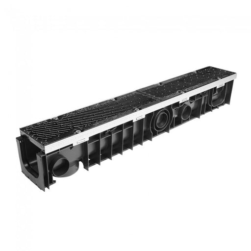 Polypropylene Channel System c/w Ductile Iron Safeslot Grates - D400 Loading