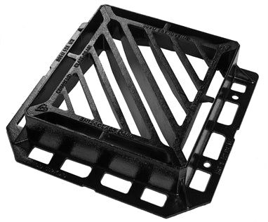 D400 D/Tri Gully Grate & Frame (Various Sizes)