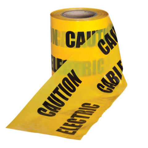 Underground warning tape - Electrical Cable