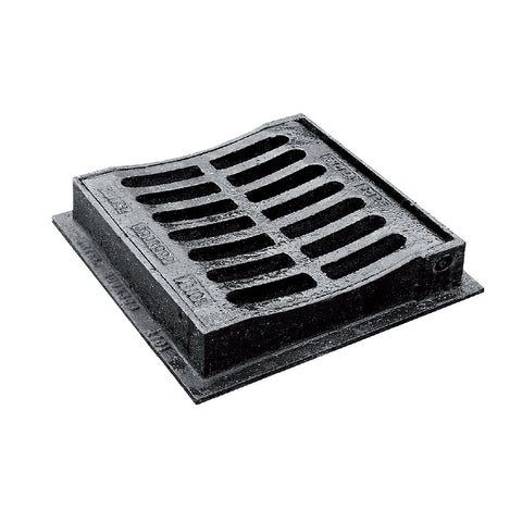 300 X 300 X 75mm B125 Hinged Dished Top Grating Amp Frame