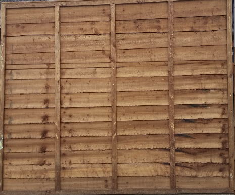 Waney Lap Fence Panel (Various Sizes)