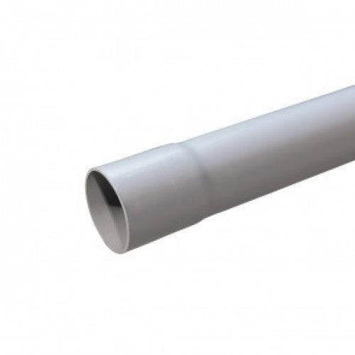 96.5mm x 6mtr Grey BT Duct
