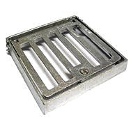 Hinged Alloy Grate & Frame (Various Sizes)