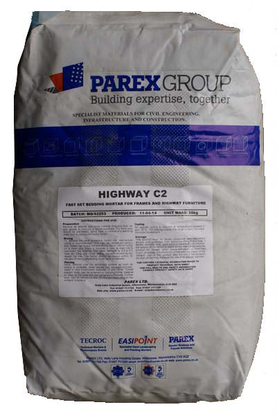 25kg Highway C2 Bedding Mortar