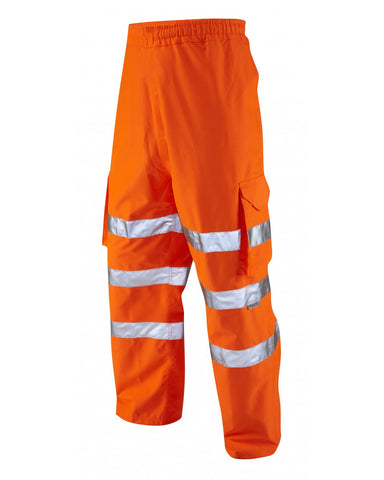 Breathable Cargo Trouser - Orange