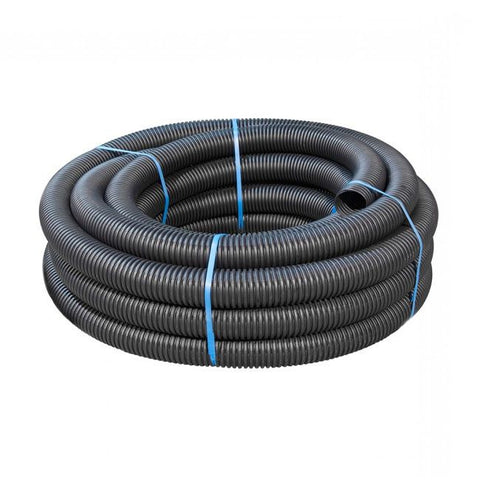 80mm Black Perforated Land Drain
