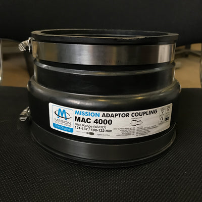 AC4000 Adaptor Coupling 121-137mm to 110-121mm