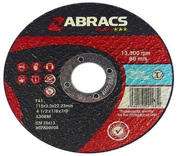 Metal Cutting Disc (Various Sizes)