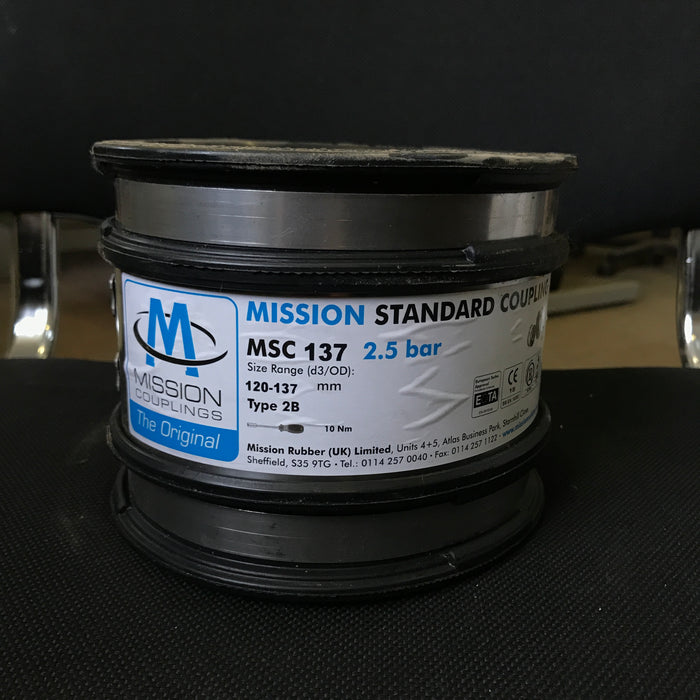 MSC 137 Standard Coupling 120mm to 137mm