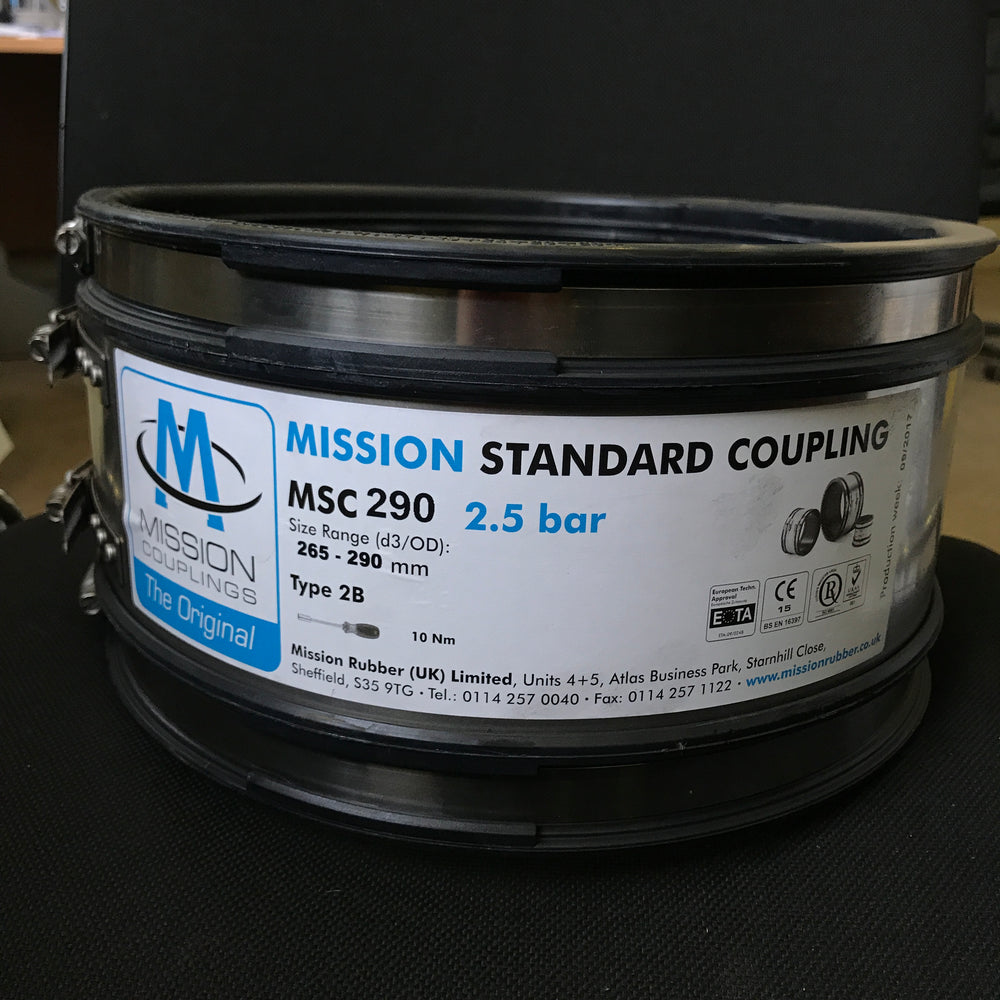 MSC 290 Standard Coupling 265mm to 290mm