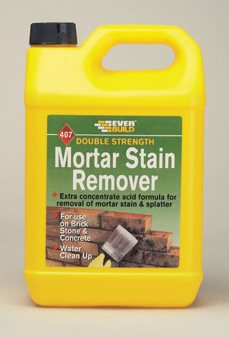 407 Mortar Stain Remover 5ltr