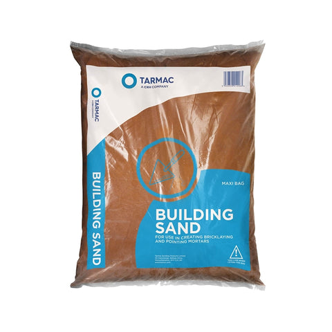 25kg Red Building Sand