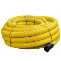 60mm x 50mtr Yellow Perforated Gas Duct