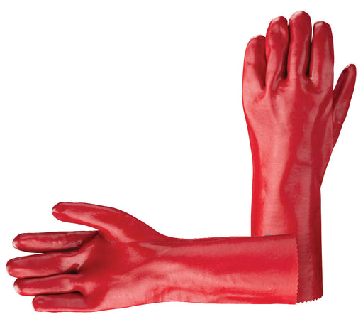 Red PVC Gauntlet