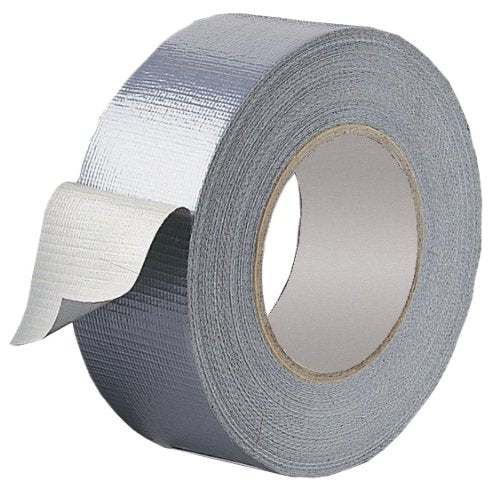 Duct Silver Cloth Tape (Various Sizes)