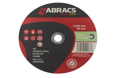 Stone Cutting Disc (Various Sizes)