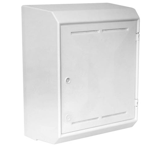 Gas Meter Box - Surface Mount (White)