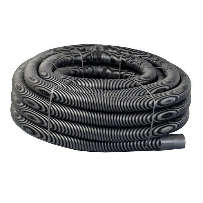 50mtr Black Twinwall Duct c/w draw cord (Various Sizes)
