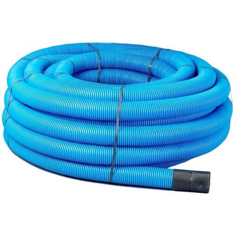50mtr Blue Twinwall Duct c/w draw cord (Various Sizes)
