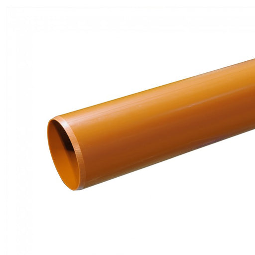 110mm PVCu Underground Pipe Plain Ended