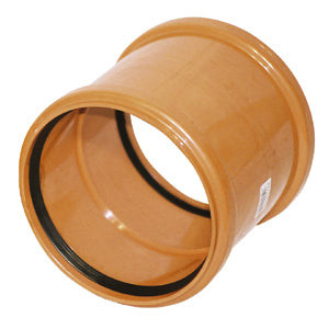 160mm Coupling Double Socket