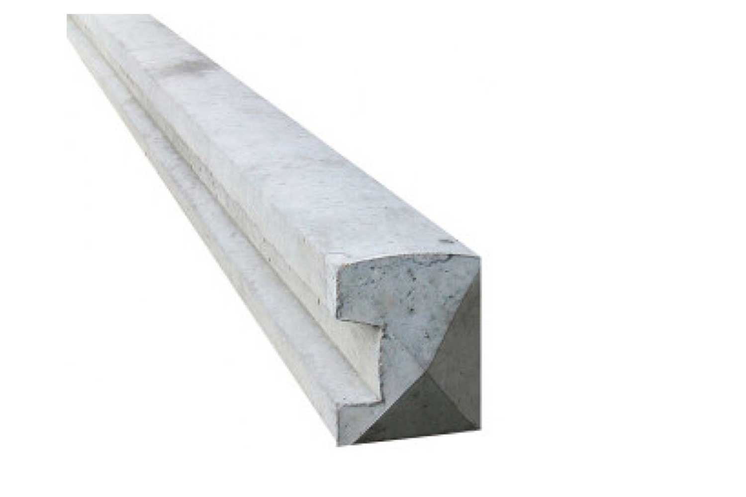 Wet Cast Slotted End Post (Various Sizes)