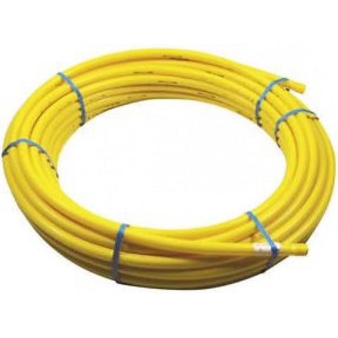 25mm Yellow Gas Pipe (Various Length Coils)