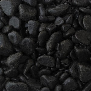 Ebony Black Pebbles