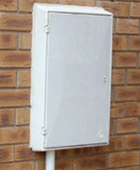Gas Meter Box - Recessed