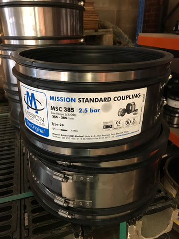 MSC 385 Standard Coupling 355mm to 385mm