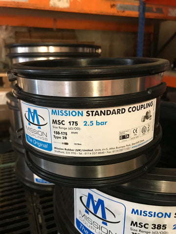 MSC 175 Standard Coupling 150mm to 175mm