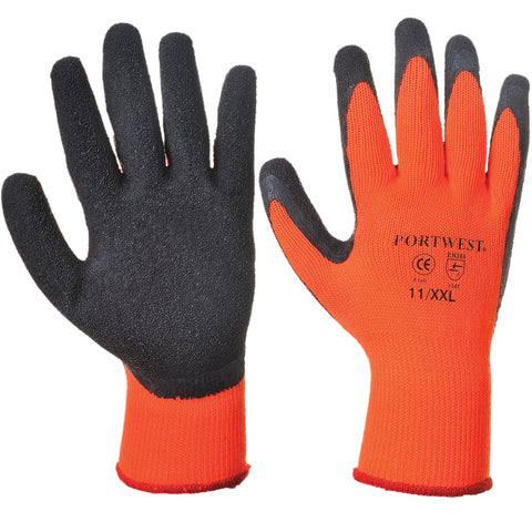 Ace Therm Gloves - Black/Orange