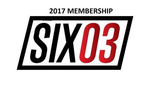 2017 SIX03 Endurance Annual Membership