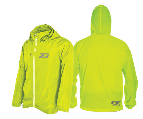 SIX03 Packable Rain Jacket