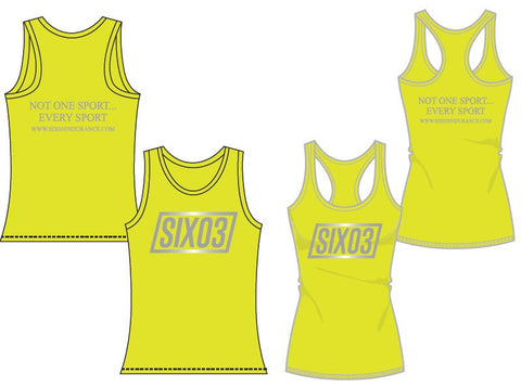 SIX03 Reflective Running Singlet (Men's & Women's)